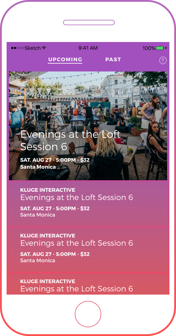 Design Events App